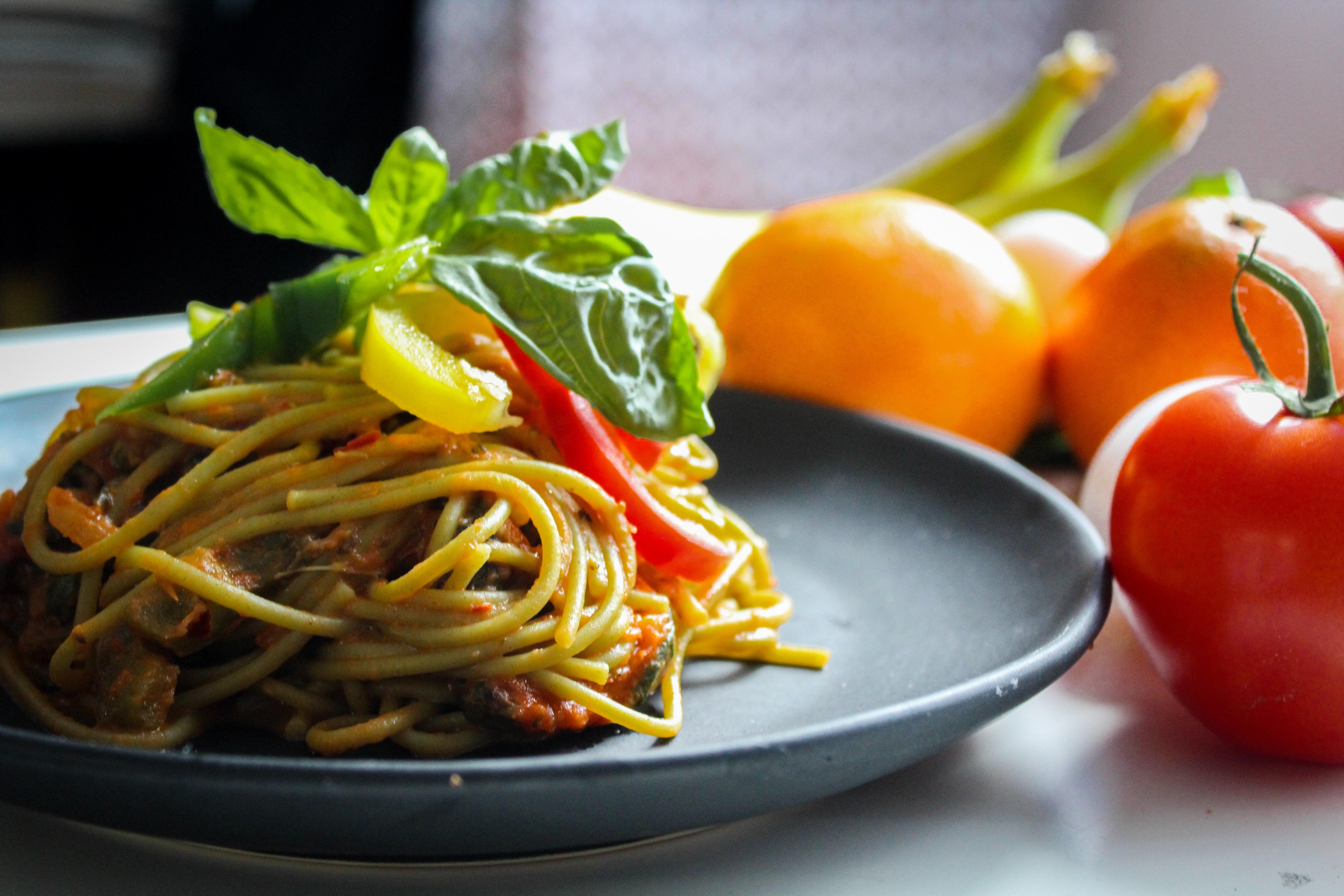 Spaghetti alla Strangolata