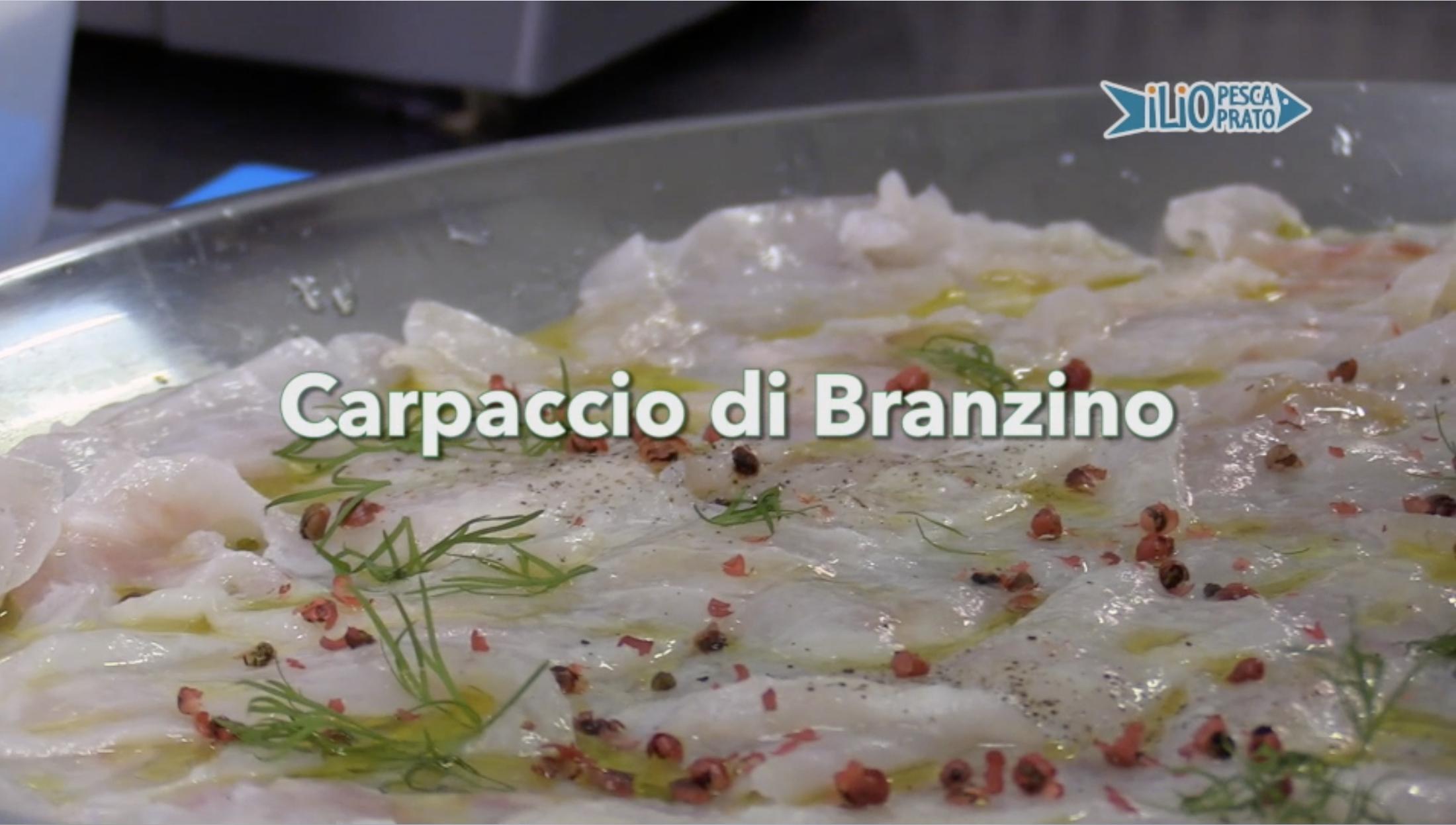 Carpaccio di Branzino, la nostra video ricetta