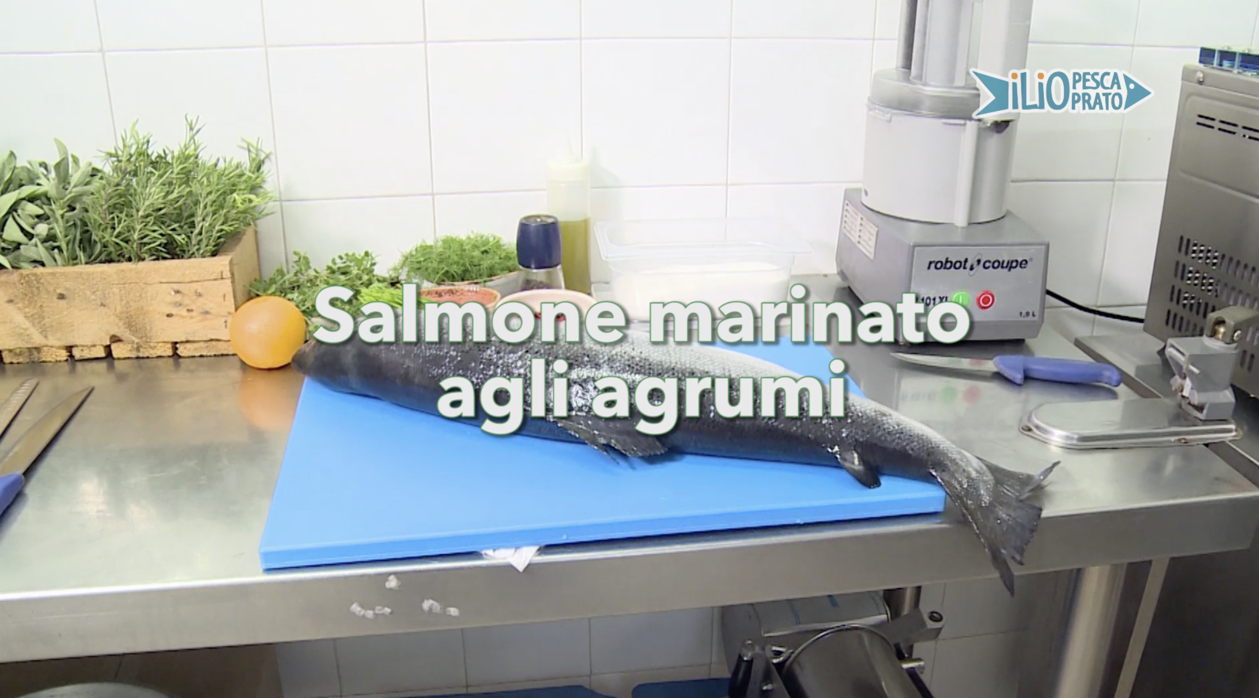 Salmone marinato agli agrumi Marblu