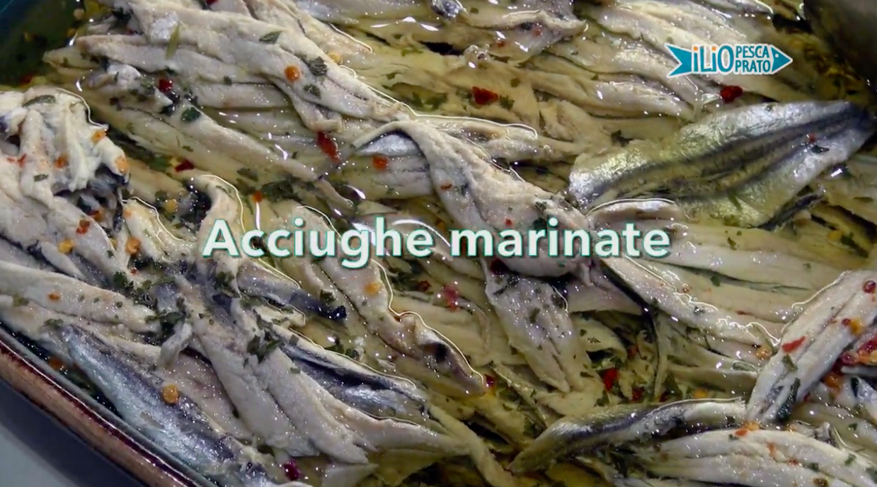 Acciughe Marinate – Le Video Ricette di Marblu